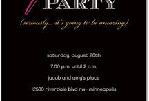 Invites / by Shavonne Caster