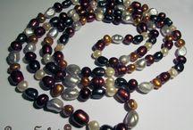 Collane di perle / Collane di perle naturali e colorate ad immersione #necklace #collane #pearls #perle