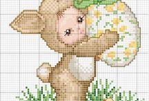 Cross Stitch: Velikonoce