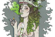 estampas weed