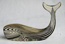 Whale Sculptures