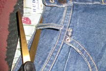 Upcycle jeans in any way / How to use old jeans to make bags, clothes, carpets and other things