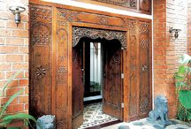 Pintu Gebyog Jawa