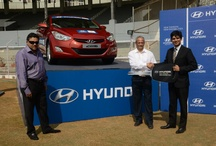Hyundai Car Handing Ceremony at ICC Women's World Cup India, 2013 / by HyundaiIndia