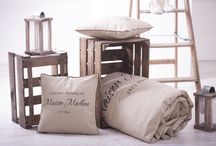 "Maison Madlene ""Paris"" bedding, bedspread / Collection ""Paris"", home decor, bedspread, bedding, exclusive beadspread, bed linen"