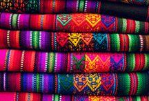 fabrics full of colour