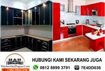 kitchen set sentul