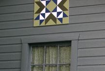 Barn quilts / Exterior home decor