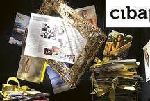 """CIBAP / Cibap wil de toonaangevende MBO vakschool zijn waar creatief talent de ruimte krijgt om te excelleren. Dizain (www.dizain.nl) heeft een visual identity ontwikkeld waarin de merkwaarden van Cibap terugkomen.  Het kader is hier het woordbeeld """"cibap"""" gezet in lettertype Museo van Jos Buivenga. Dit kader is een vast gegeven, het vormt de basis van de herkenbare Cibap-stijl."""