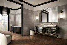 Träklinker (Wood effect tile) / Inspiration och idéer kring träklinker i kök, badrum samt större ytor inom- och utomhus.