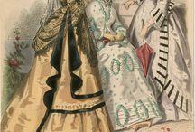 одежда 19 век