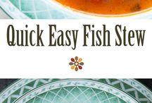 Goulash, fish