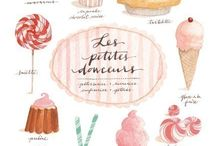 Food & Cook Illustrations