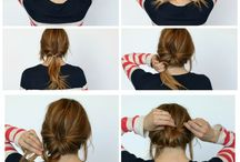 Hairstyle & tutorials