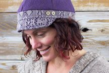 Women's Hats / Stylish & fashionable women's hats, caps and beanies made from recycled & upcycled fabrics.