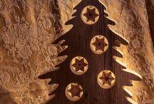 drevené ozdoby