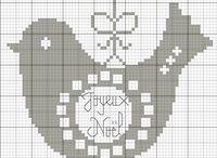 Broderie points de croix, Cross stitch