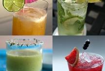 Drinks and food