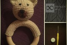 Crochet Baby Rattle / Hæklet Baby Rangle