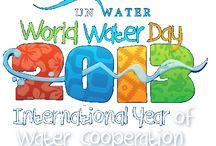 Día Mundial del Agua / Imágenes sobre el Día Mundial del Agua 2013, impulsado por Naciones Unidas con el tema de la cooperación por la esfera del agua.