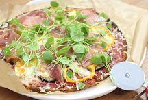 Recepten / Pizzabodem met bloemkool en bataat