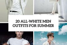 All white outfits for men - Summer 2018 - Back to 80's and MIAMI VICE / All White Outfits For Men – Cool Clean Stylish Looks. Stylish Ways to Wear white – White can be an awkward color to style and some people will steer clear of it altogether. However for gentlemen nowadays this is not the case and white can be an attractive color which such gives such a powerful impression and that can suit all shapes and sizes. The beauty of a white dress is it's pure versatility. Much of the popularity of the white-on-white look is down to its clean, fresh and contemporary feel.