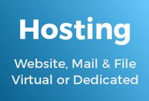 Hosting / Hosting solutions, including for internet services including web-, mail, cache, queue, file and backup solutions on private, dedicated, virtual or cloud computers.