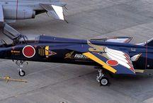 Model planes paint ideas