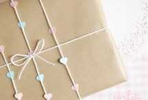 Kraft Paper Gift Wrapping Ideas