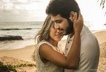 Fernanda & Henrique / Ensaio casal pré wedding na praia