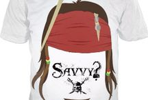 Pirates of the Caribbean Tee with Logo... Savvy?