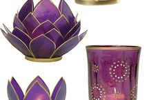glas candles