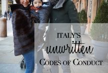 "LIFE IN ITALY / Life in Italy - How to be More Italian & unlocking the secrets to ""fitting in"" in Italy EXPAT LIFE IN ITALY - EXPAT IN ITALY - from the blog REASONS TO DRESS / by reasonstodress"