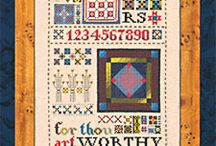 Amish cross stitch