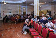 Conferencias / Imágenes de las conferencias tanto impartidas por Antonio López como a las que ha asistido y son de auténtica relevancia