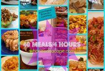 Crockpot Meals / by Tiffany