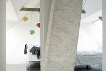 INTERIÉR - konstrukt / Konstrukční řešení - krovy, místnosti, předěly...