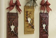 country/primitive crafts n decor / by Sarah Hamlin