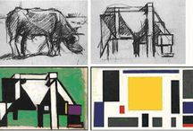 Theo van Doesburg / 1. Show a cross section of each creative practitioner's work 2. Demonstrate the artistic, social, historical and cultural influences on each artist/designer/illustrator's work 3. Show contextual information associated with each artist/designer/illustrator: geographical context, and the movement to which they belong