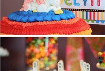 {Party} Rainbow Unicorn