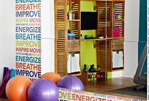Our Exercise Room / by #CoachVal Kellogg