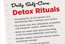 Self care, detox, resetting imbalnces