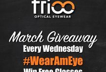 Trioo Giveaway / Stay tuned for all our giveaway, promotion and campaign info! You won't want to miss this.