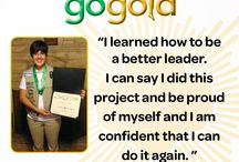 2014-15 Girl Scout Gold Awardees / The Girl Scout Gold Award is the highest award in Girl Scouting.  Only 6% of eligible girls earn this prestigious award.