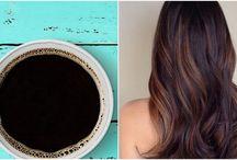 Farba na vlasy-kava