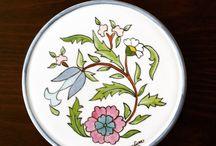 Porcelain patterning#art#handmade / Porselen desenleme