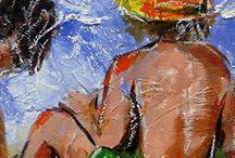Livros sobre a pintura de Rui Carruço / Livros sobre a pintura de Rui Carruço
