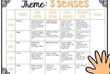 preschool weekly planner