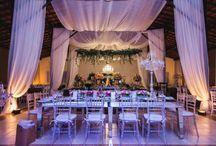 Mesas comunitárias para casamentos / Mesas comunitárias e de família para casamentos.