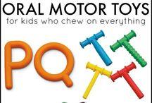 Autisme sensory / Oral motor skills
